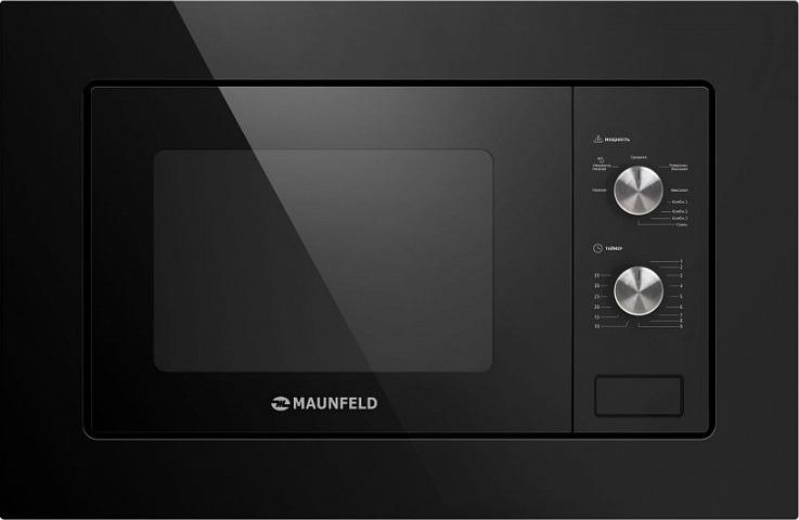 Микроволновая печь Maunfeld MBMO.20.2PGB 1250Вт, встраиваемая, черный, 20 л