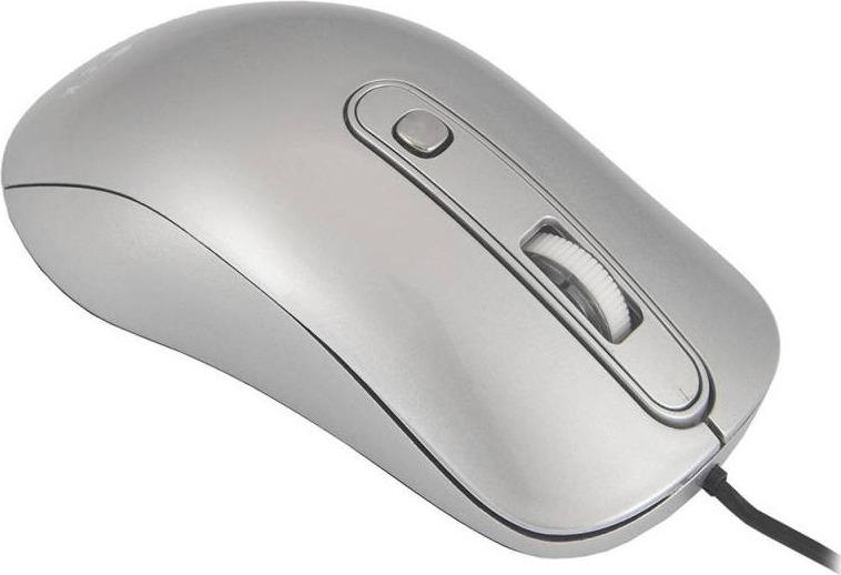 лучшая цена Мышь Oklick 155M, оптическая, серебристый