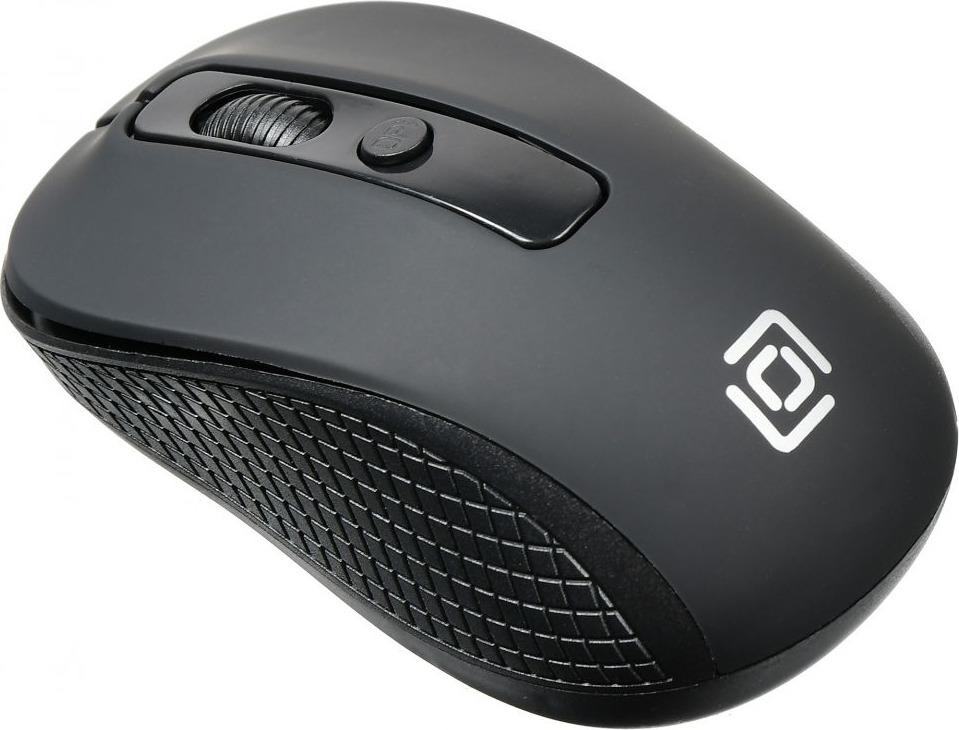 Мышь беспроводная Oklick 645MW, оптическая, черный набор клавиатура мышь oklick 210m клав черный мышь черный usb беспроводная