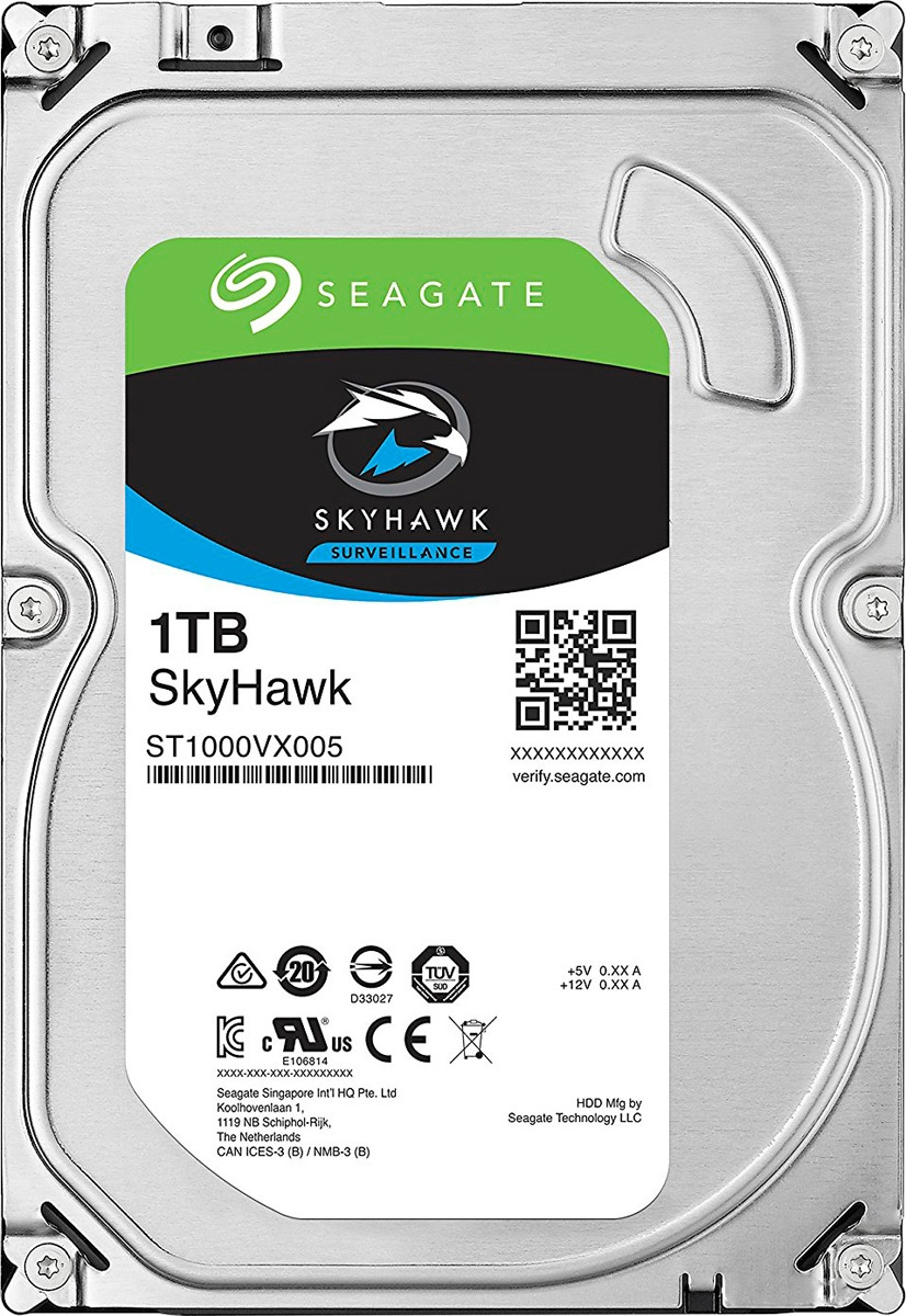 Внутренний жесткий диск Seagate SkyHawk, 1 ТБ цена в Москве и Питере
