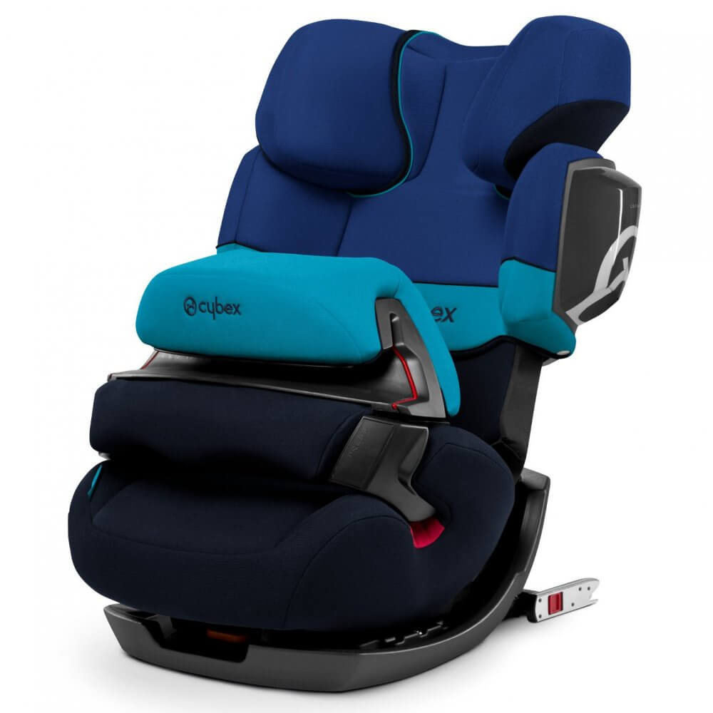 Автокресло Cybex Pallas 2-Fix синий автокресло cybex solution x blue moon