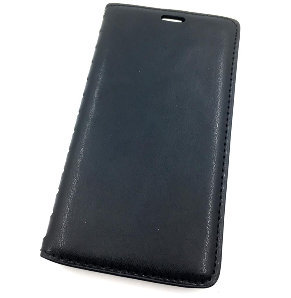 Чехол для сотового телефона Мобильная Мода Lenovo 2010 Чехол-книжка силиконовая с отделом для карт QUINS, черный