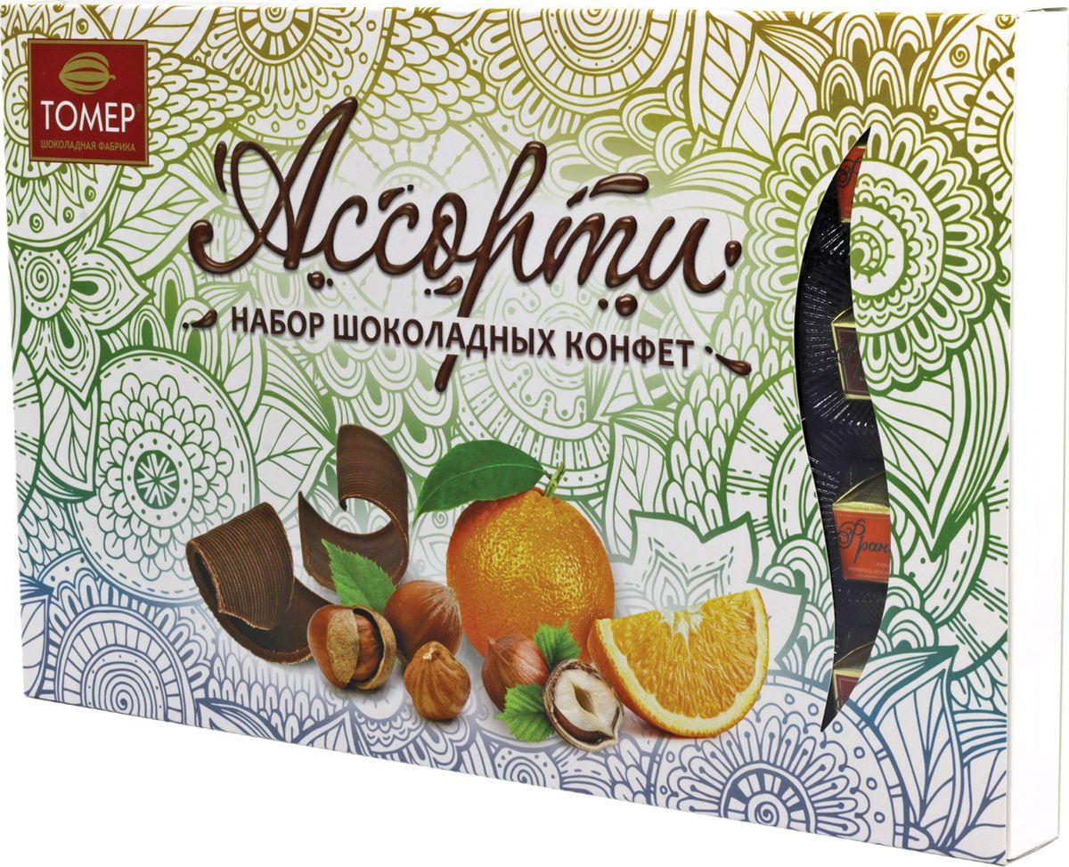Конфеты Томер Франт Ажур, 250 г merci набор конфет ассорти из шоколада с миндалем 250 г