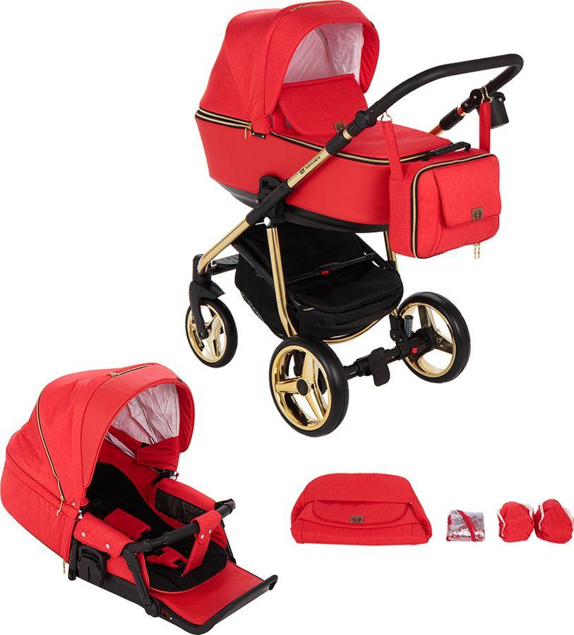 Коляска универсальная Adamex Reggio Special Edition 2 в 1, Y832, красный