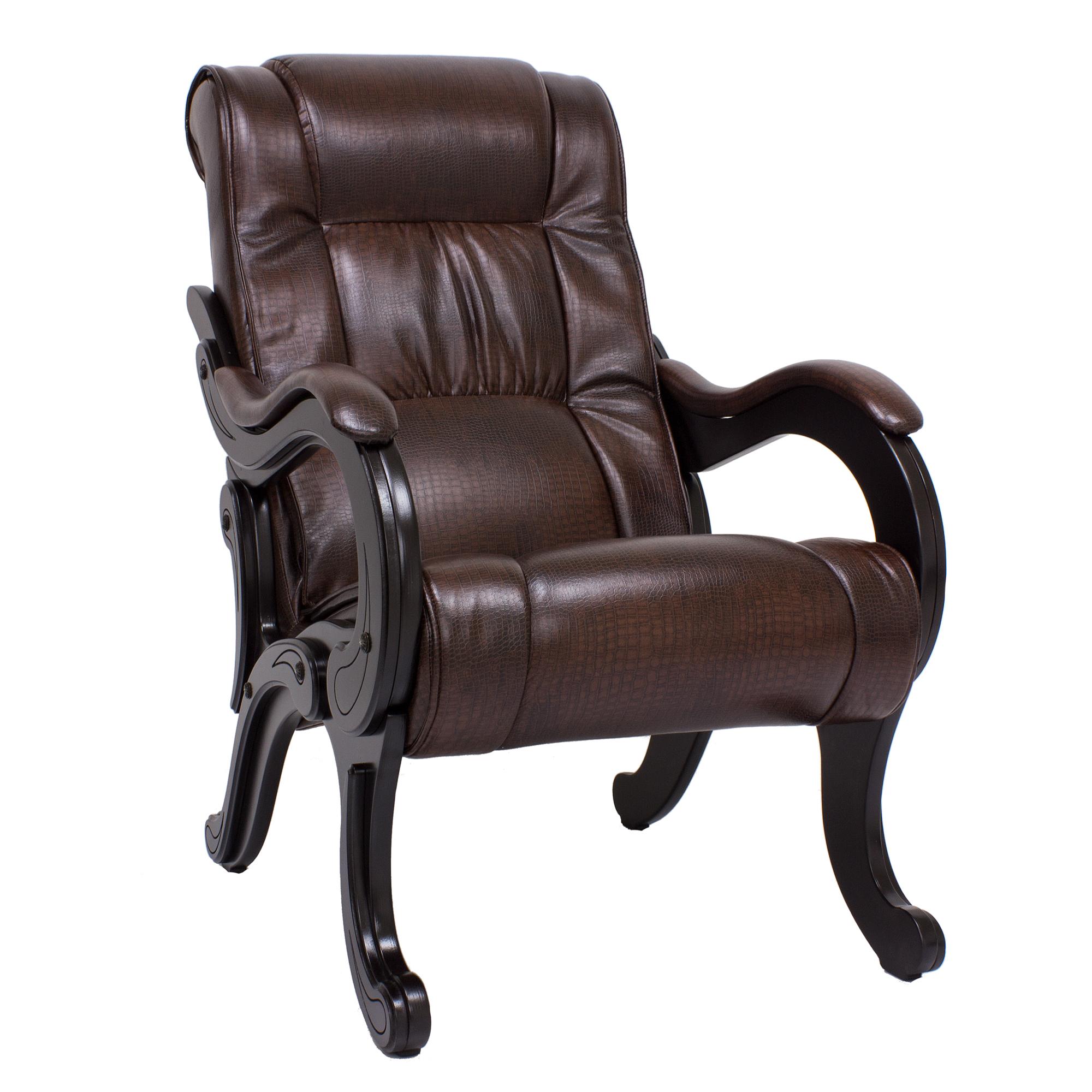 Кресло Комфорт model-71, коричневый