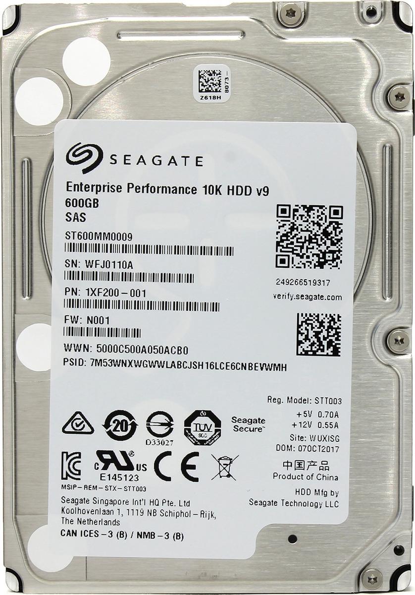 Внутренний жесткий диск Seagate Exos 10E2400, 600 ГБ