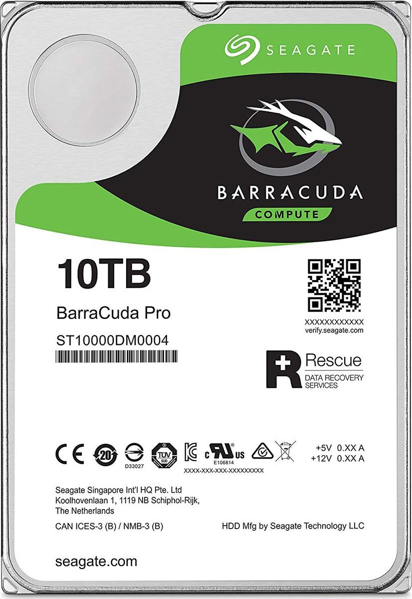 Внутренний жесткий диск Seagate BarraCuda Pro, 10 ТБ жесткий диск samsung 320g 2 5 sata hm320hj 7200 16m