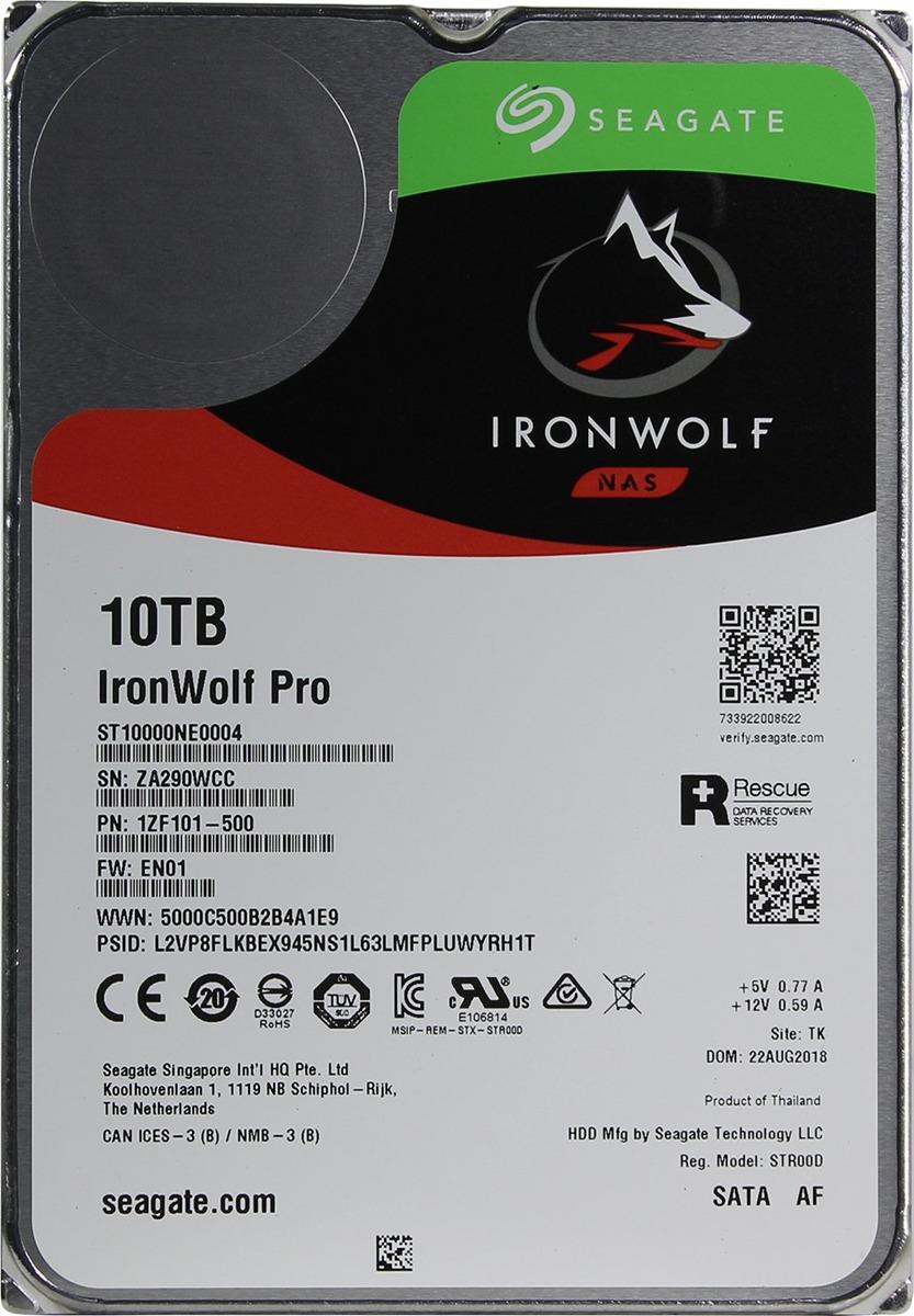 Внутренний жесткий диск Seagate IronWolf Pro, 10 ТБ