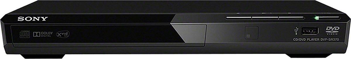Плеер DVD Sony DVP-SR370, черный dvd плеер sony dvp sr320b