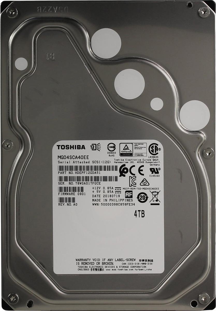 Внутренний жесткий диск Toshiba Enterprise Capacity MG, 4 ТБ