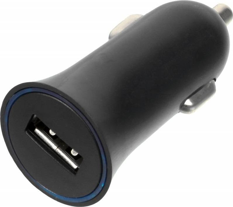Автомобильное зарядное устройство Wiiix UCC-1-4B 1A, черный автомобильное зарядное устройство wiiix с двумя usb портами цвет черный ucc 2 19 wiiix qc3