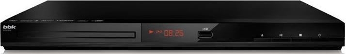 Плеер DVD BBK DVP036S, черный проигрыватель dvd bbk dvp036s караоке серый черный
