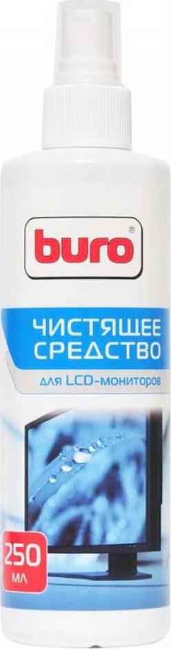 Спрей Buro для экранов ЖК мониторов, 250 мл, BU-SLCD