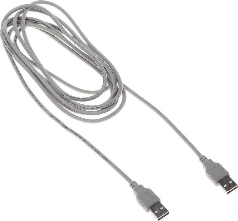 Кабель Buro BHP RET, 3 м, серый кабель buro bhp lightning 0 8 lightning m usb a m 0 8м черный