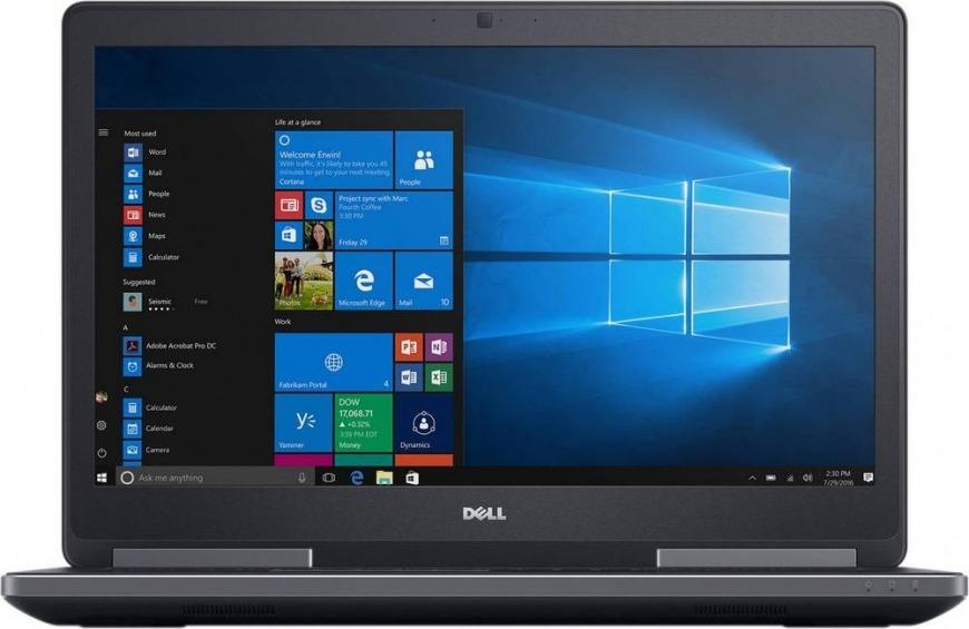 Ноутбук Dell Precision 7720, 7720-2646, 17.3, черный ноутбук 10 дюймов