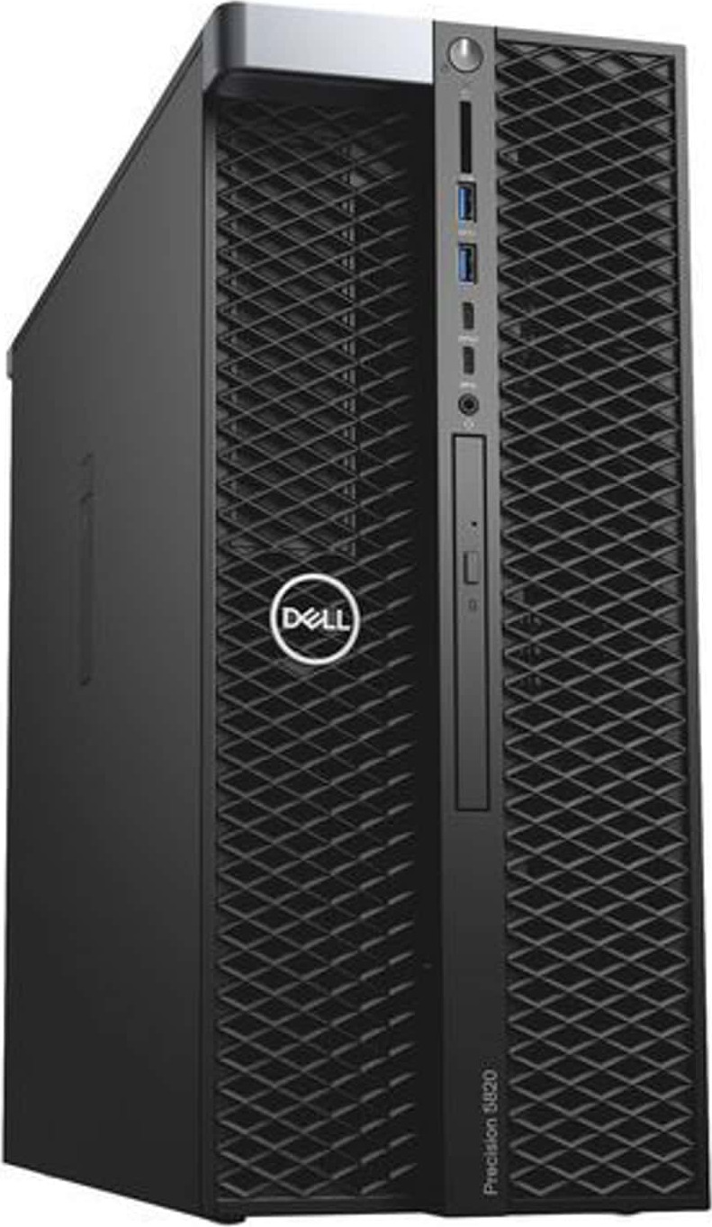 Системный блок Dell Precision T7920, 7920-2820, черный компьютер dell precision t7920 silver 4110 32gb 2000gb hdd 256gb ssd win10pro 7920 2806