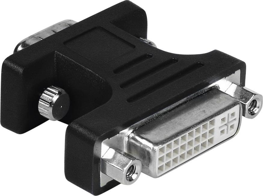 Адаптер Hama H-34624 00034624, 0.05 м, черный адаптер hama h 45047 1 шт