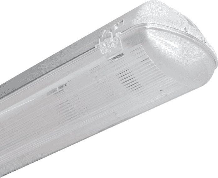 Светильник светодиодный Пан Электрик CСП, влагозащищенный, с лампой, белый, 1хT8, 18W, 6500К