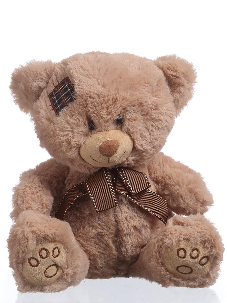 Мягкая игрушка TOY and JOY Медведь с заплатой 6-0076-25 игрушка joy toy снайпер 7149