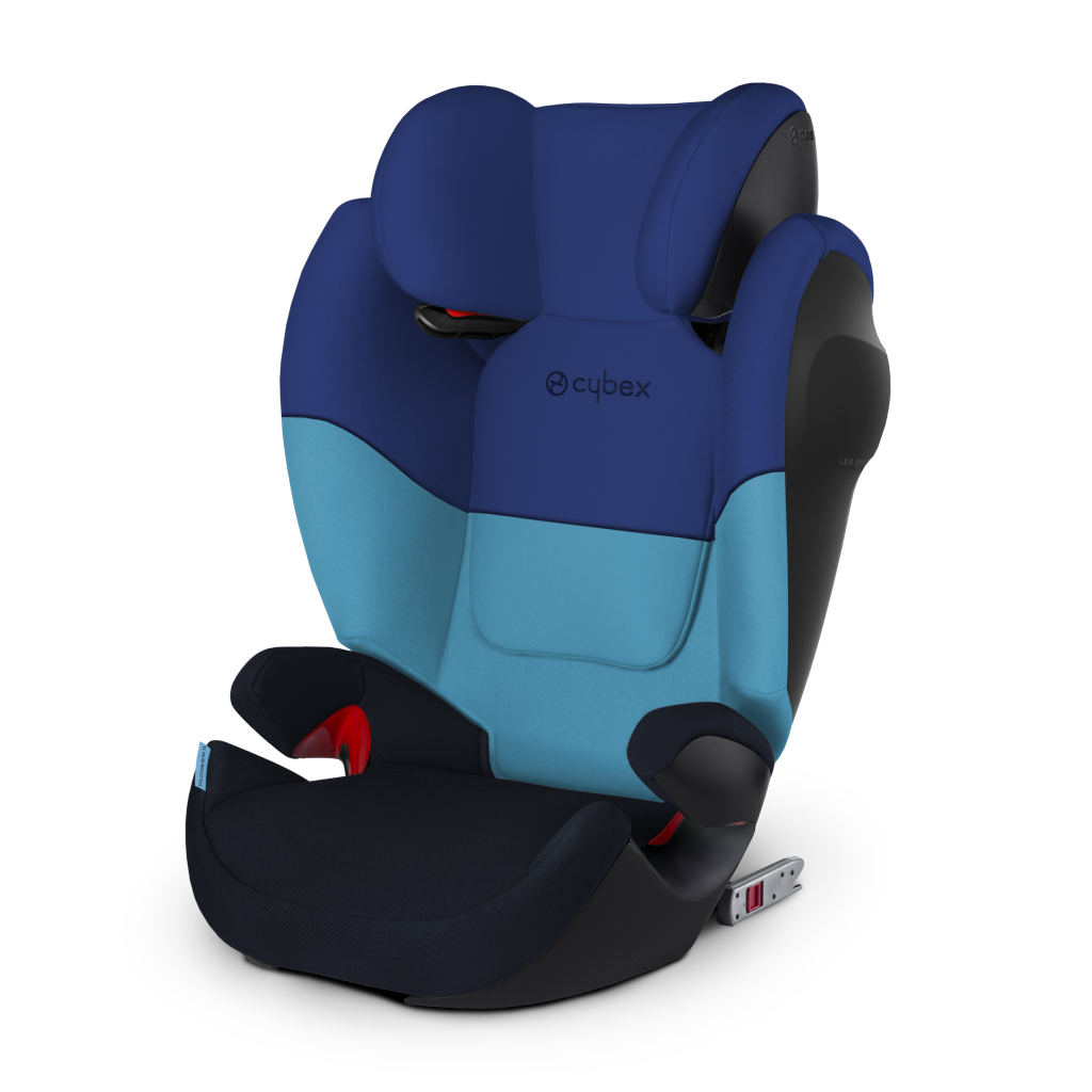 Автокресло Cybex Solution M-Fix SL синий автокресло cybex solution x2 fix gray rabbit 515117001