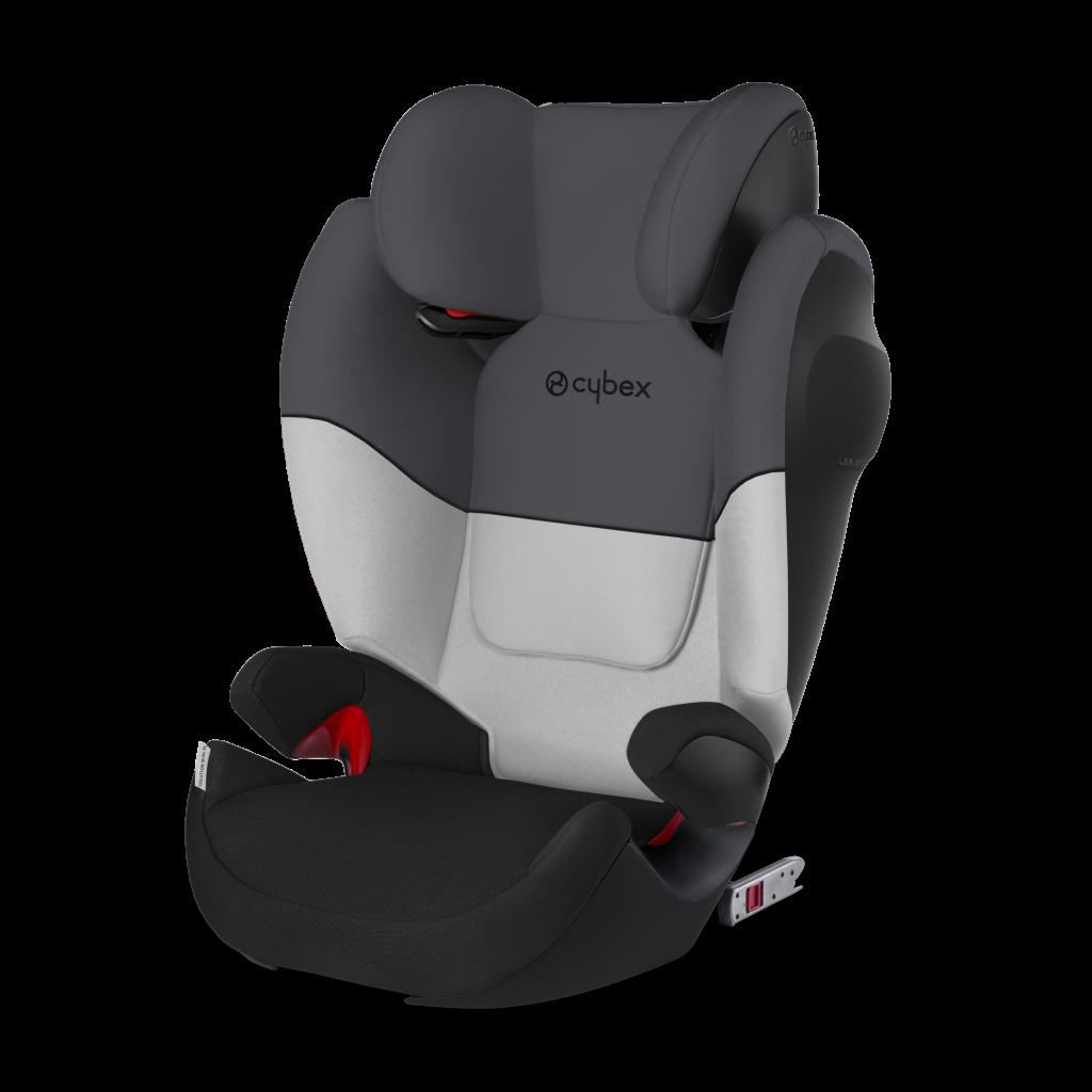 Автокресло Cybex Solution M-Fix SL черно-серый цена