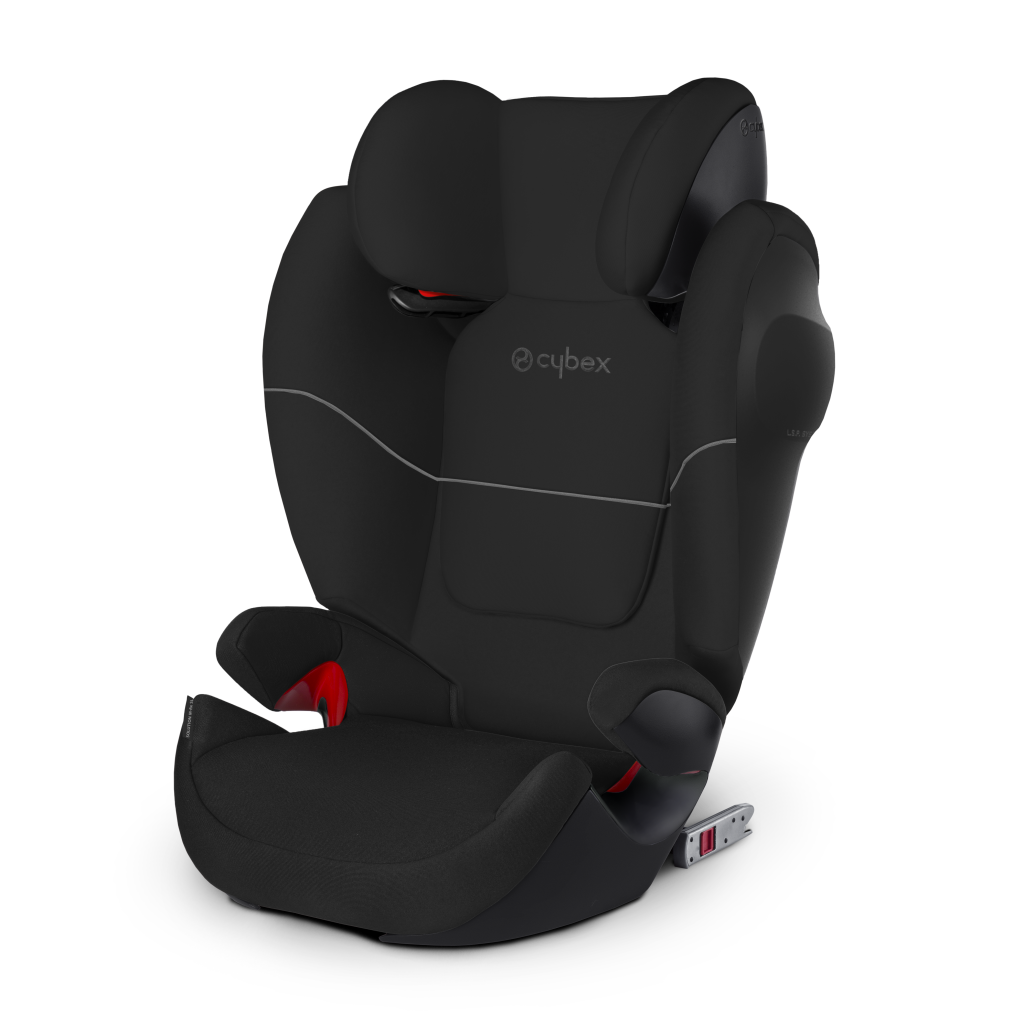 Автокресло Cybex Solution M-Fix SL черный автокресло cybex solution x2 fix gray rabbit 515117001