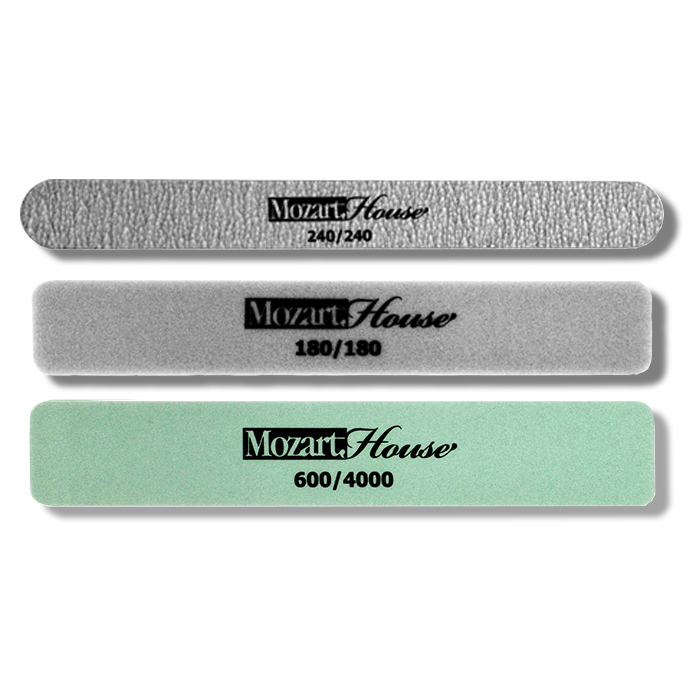 Маникюрная пилка Mozart House 04002 косметическая кисть mozart house кисть для дизайна ногтей волосок mozart house 10 мм