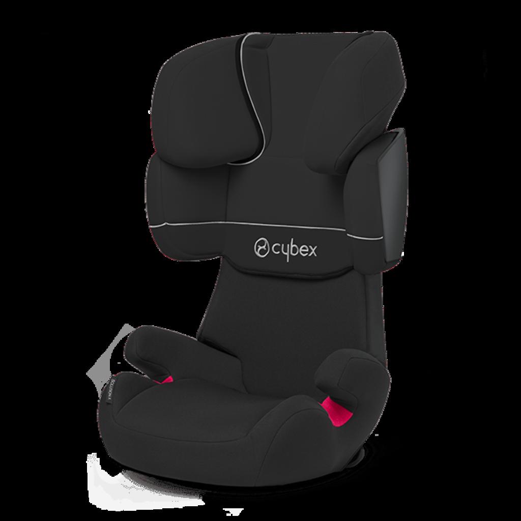 Автокресло Cybex Solution X черный автокресло cybex solution x цвет серый от 15 до 36 кг
