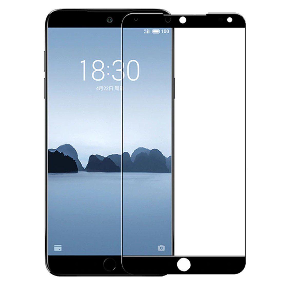 Защитное стекло TFN Meizu 15 защитное стекло для meizu m6s onext на весь экран с черной рамкой