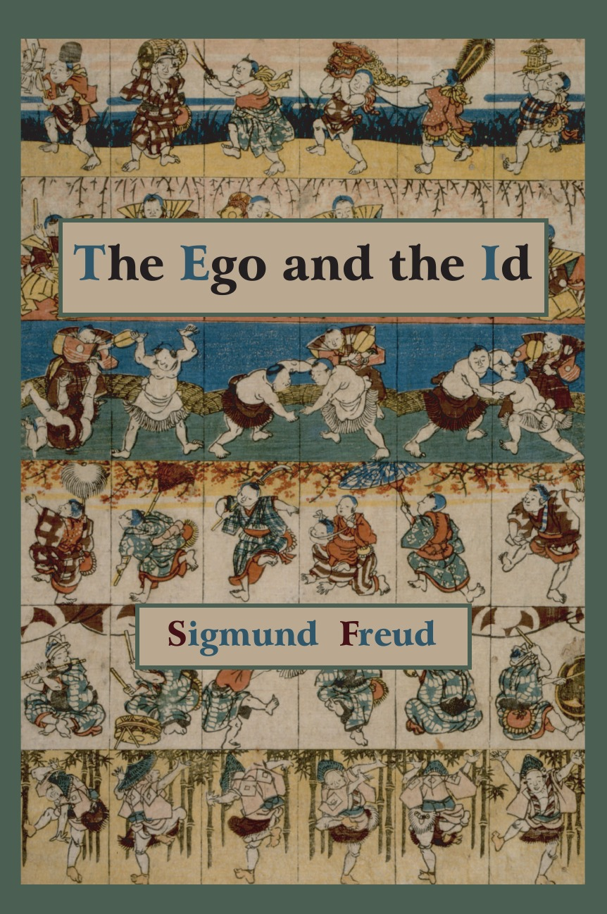Sigmund Freud The Ego and the Id - First Edition Text super ego 6008d4000