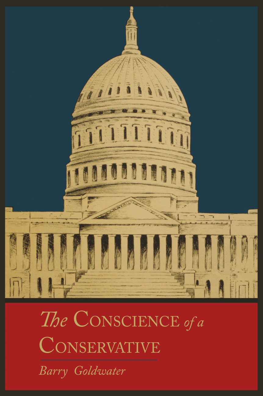 Barry Goldwater The Conscience of a Conservative barry hutchison afterworlds the book of doom