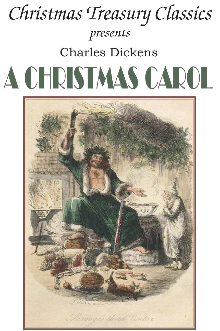 Книга A Christmas Carol. Чарльз Диккенс