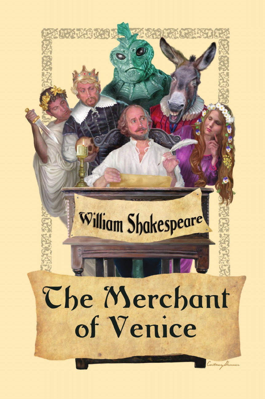 William Shakespeare The Merchant of Venice escape to shakespeare s world a colouring book adventure