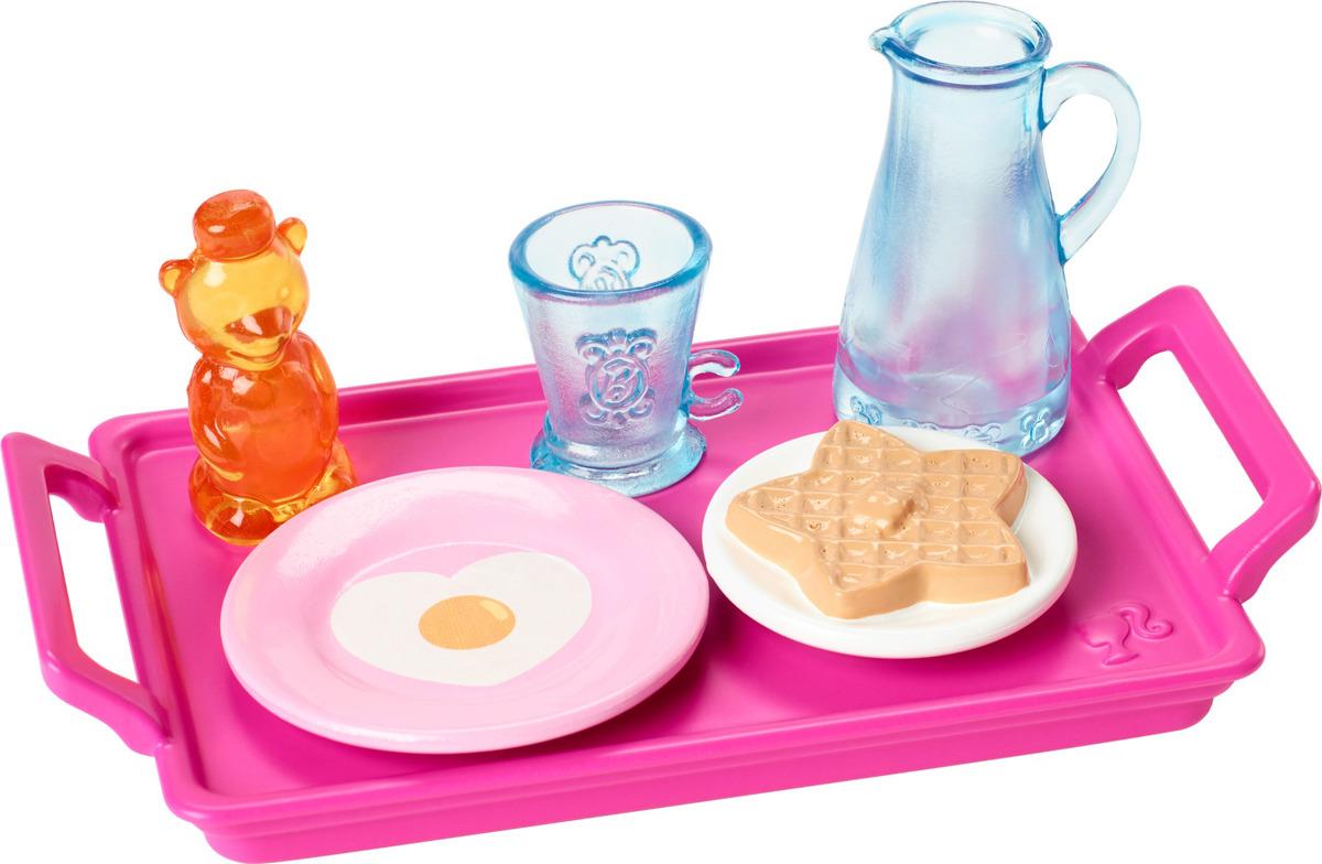 Barbie Мебель для кукол Мини-набор для декора дома FJD56_FXG28 barbie мини набор для декора уборка