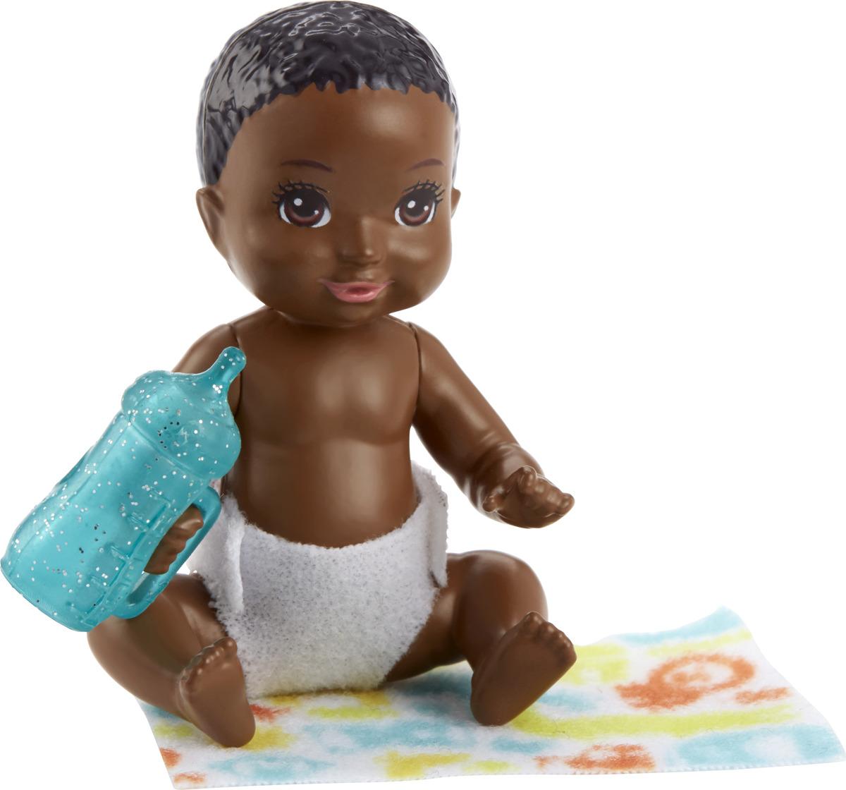 Barbie Игровой набор с куклой Ребенок с аксессуарами FHY76_FHY82