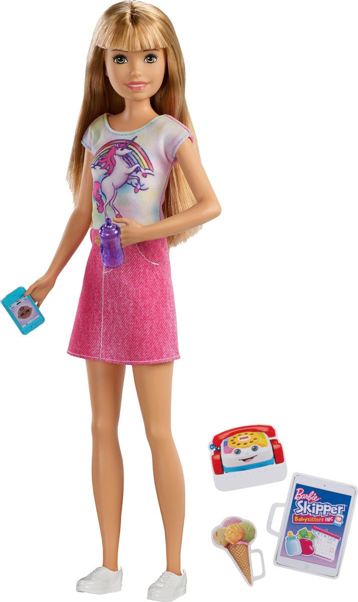 Barbie Кукла Няня FHY89_FHY92 цена и фото