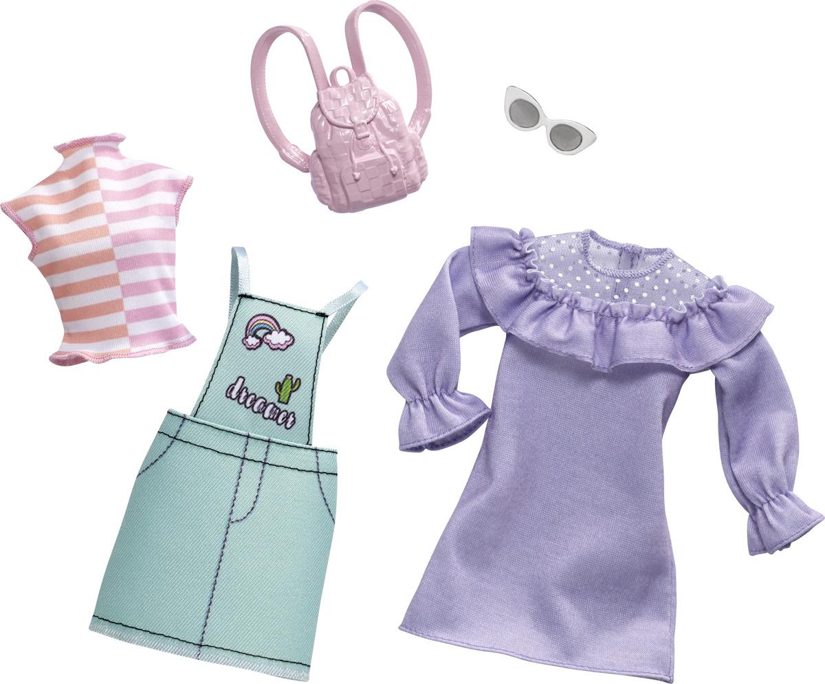 картинки набор платьев для кукол
