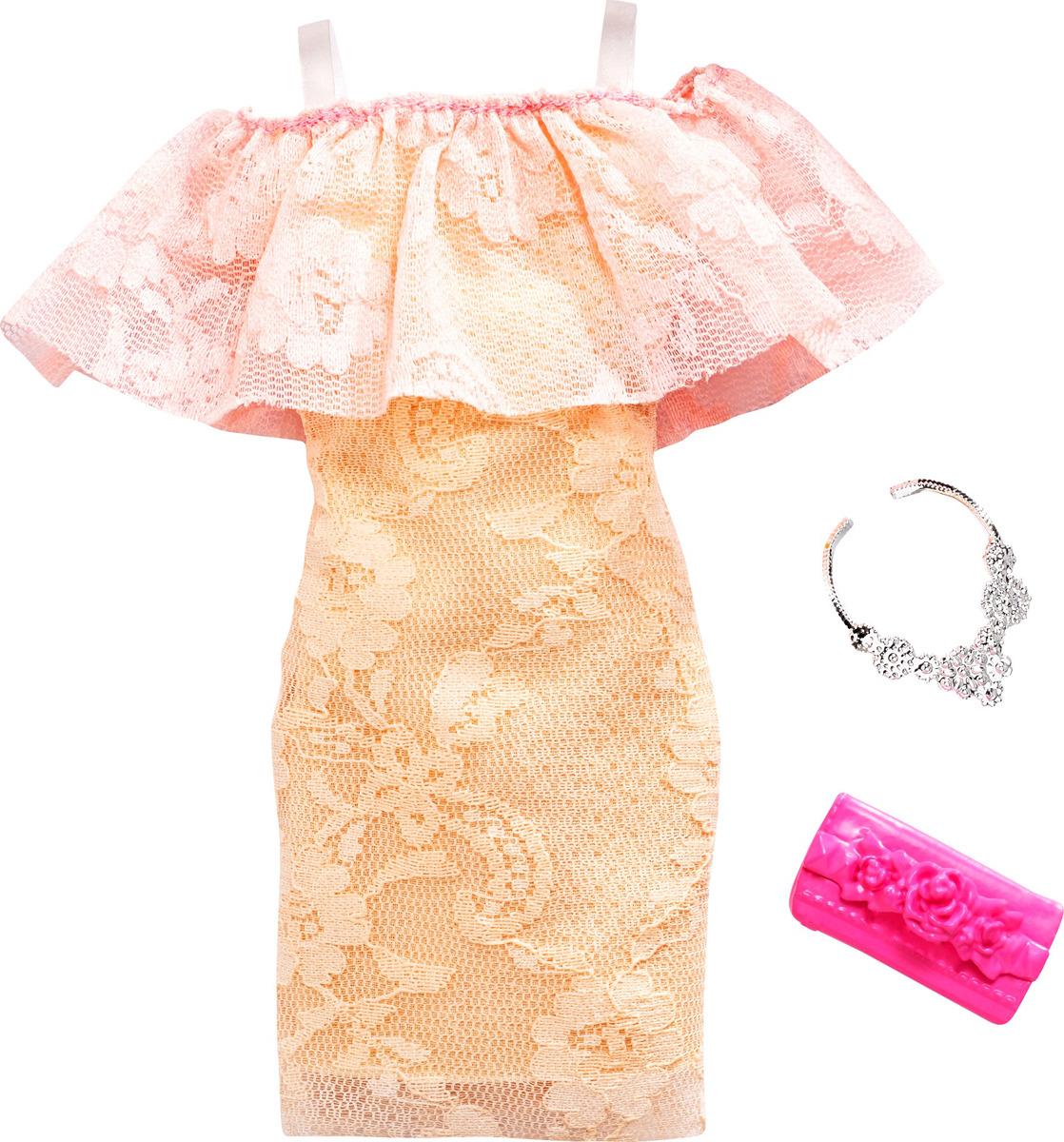 Barbie Аксессуар для кукол Дневной и вечерний наряд FND47_FXJ06 блок питания chieftec блок питания chieftec gpa 700s