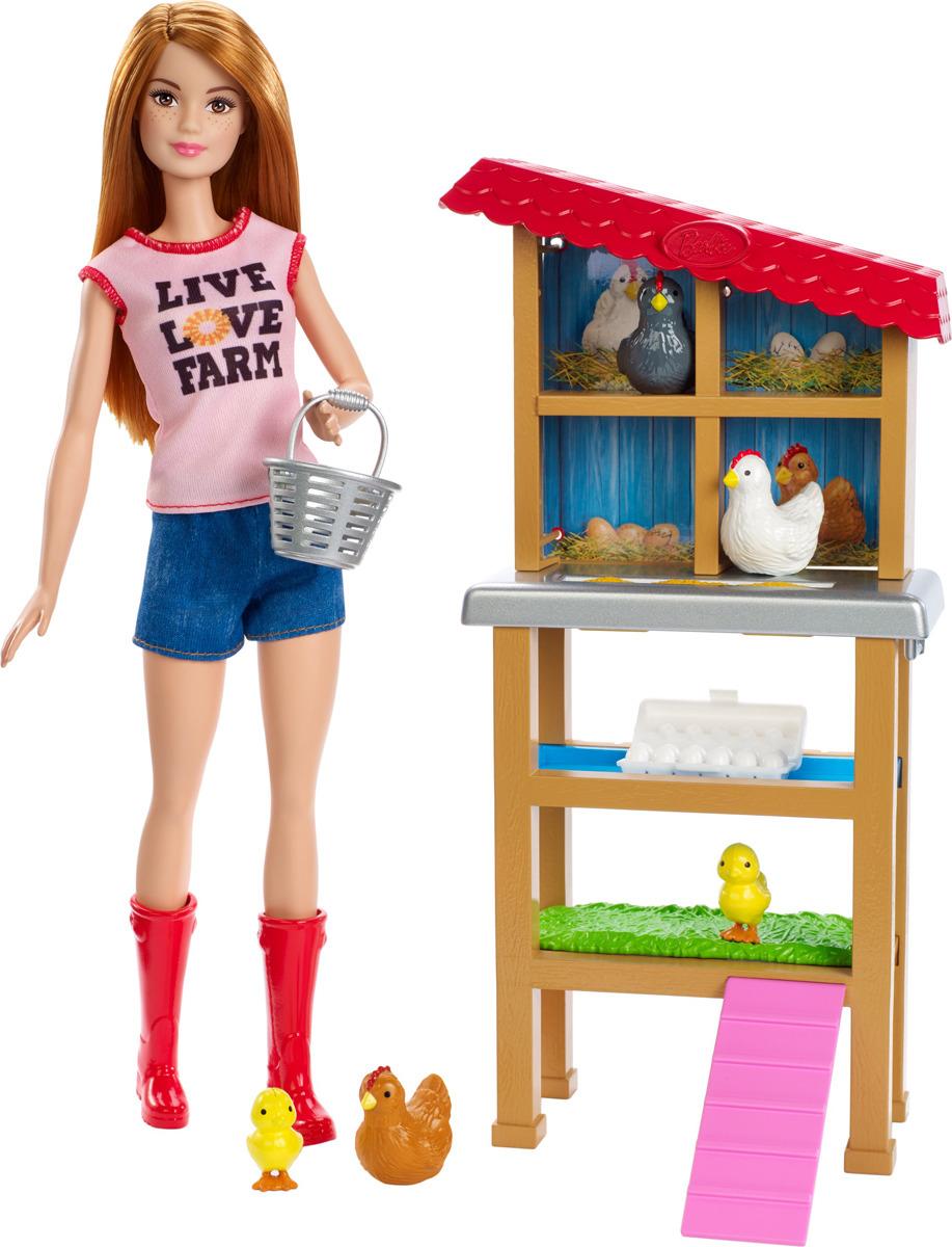 Barbie Игровой набор Ферма цена