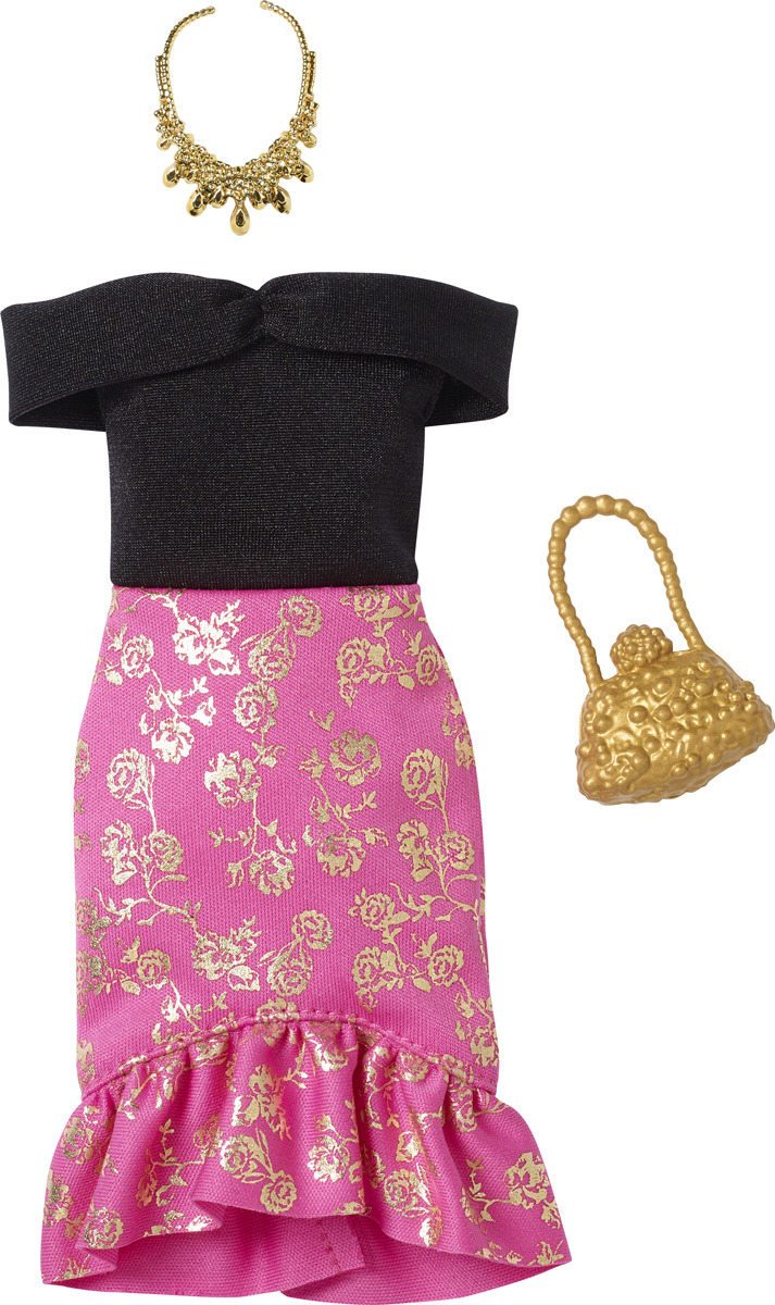 Barbie Аксессуар для кукол Дневной и вечерний наряд FND47_FXJ09