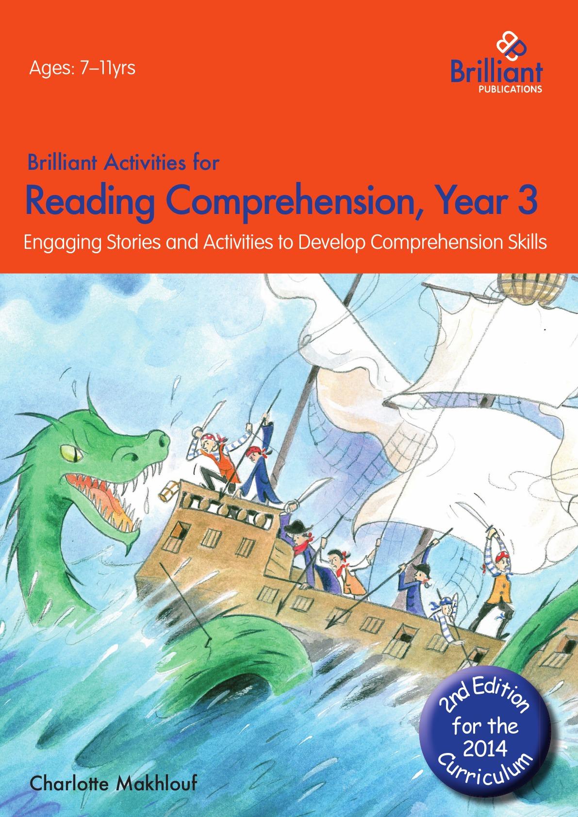 Charlotte Makhlouf Brilliant Activities for Reading Comprehension, Year 3 (2nd Edition) недорго, оригинальная цена