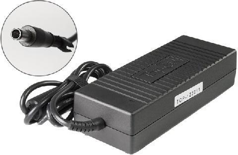 Зарядное устройство для ноутбука TOPON 19.5V -> 6.9A для ноутбука HP Compaq (7.4x5.0mm с иглой) 120W, черный блока питания ноутбука