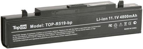 цена на Аккумулятор для ноутбука TOPON Samsung R418 R425 R428 R430 R468 R470 R480 R505 R507 R510 R517 R519 R520 R525 R580 R730 RV410 RV440 RV510 RF511 RF711 300E аккумулятор 11.1V 4800mAh