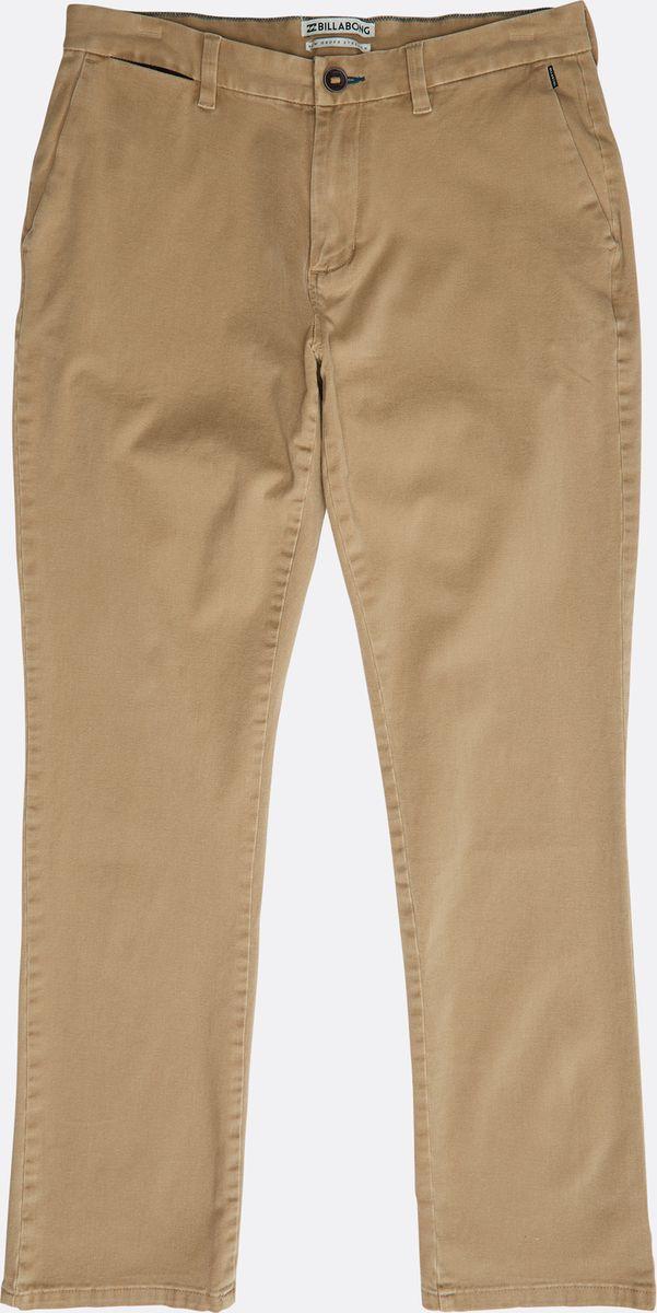Брюки мужские Billabong New Order Chino, цвет: песочный. N1PT02-BIP9-1380. Размер 28 (44)N1PT02-BIP9-1380