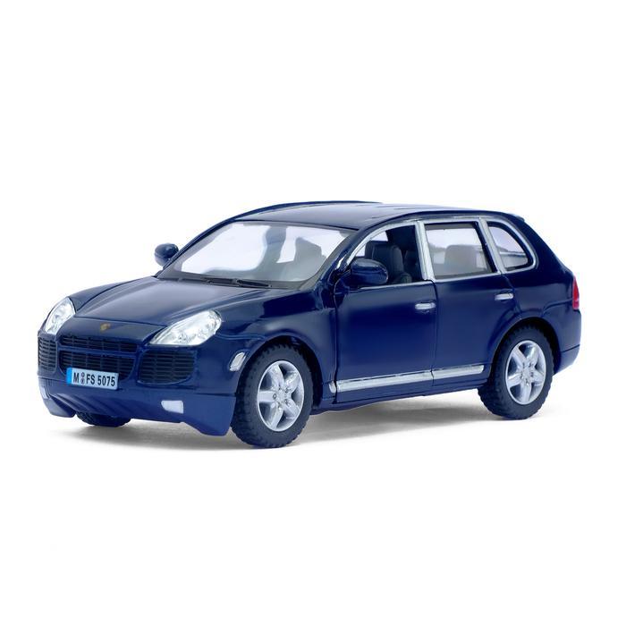 Машинка металлическая с открывающимися дверями модель Porsche Cayenne Turbo autotime модель автомобиля porsche cayenne turbo