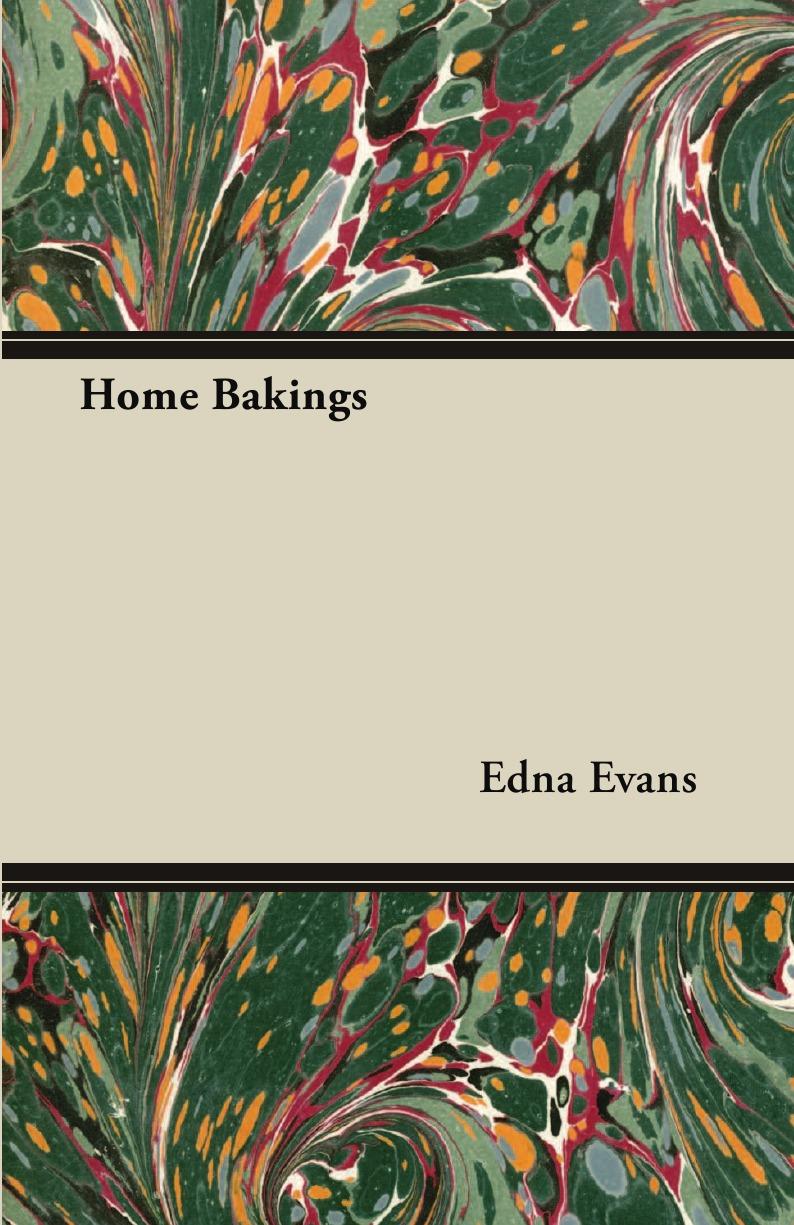 Edna Evans Home Bakings live