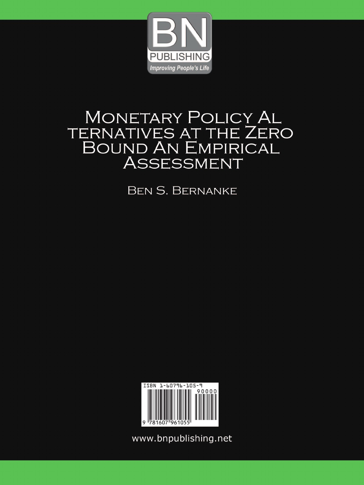 Monetary Policy Alternatives at the Zero Bound. An Empirical Assessment The success over the years in reducing inflation and, consequently...