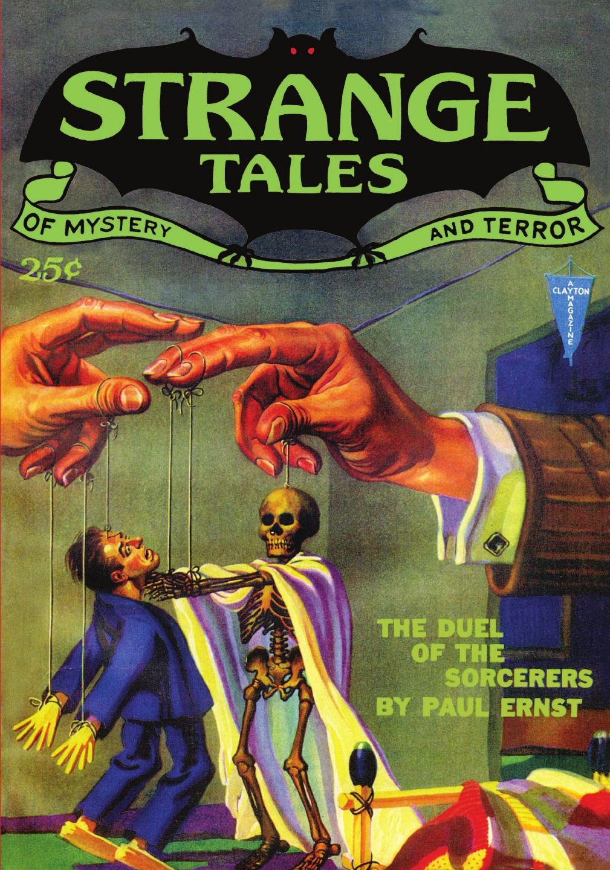 Pulp Classics. Strange Tales .4 (March 1932) weird tales 297 summer 1990