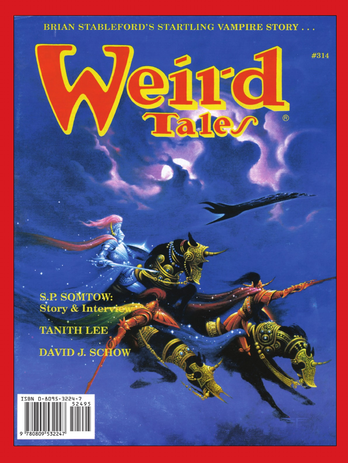 Weird Tales 313-16 (Summer 1998-Summer 1999) sean rayment tales from the special forces club
