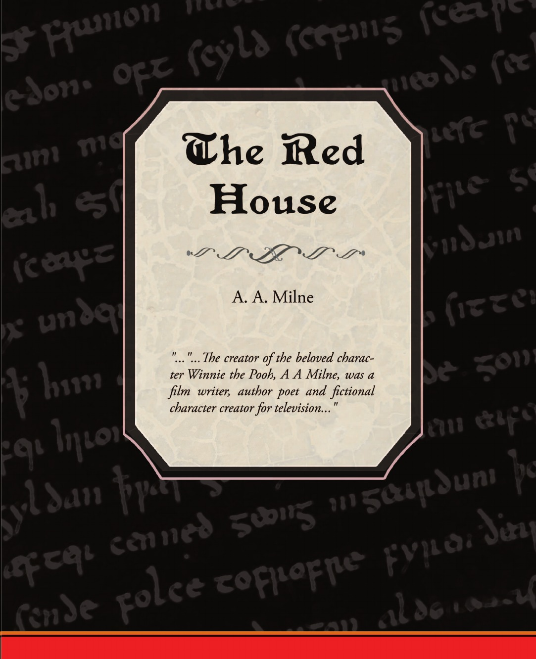 A. A. Milne The Red House Mystery helge hebestreit the young athlete